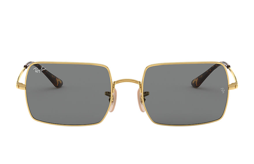 Ray-Ban  occhiali da sole RB1969 UNISEX 010 rectangle 1969 oro 8056597177108
