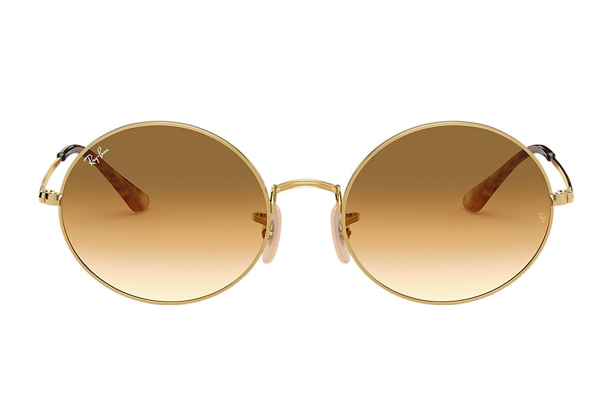 Ray-Ban  sunglasses RB1970 UNISEX 012 oval 1970 gold 8056597177436
