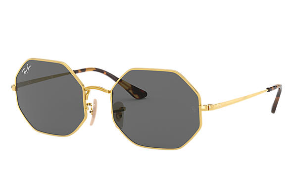 Ray-Ban 0RB1972-OCTAGON 1972 Gold SUN