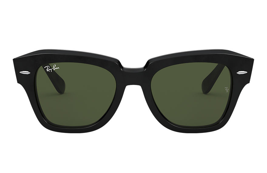 Ray-Ban  sunglasses RB2186 UNISEX 013 state street black 8056597177603