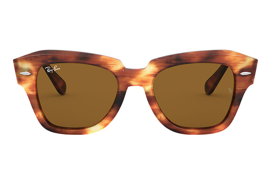 Ray-Ban  sunglasses RB2186 UNISEX 017 state street tortoise 8056597177610