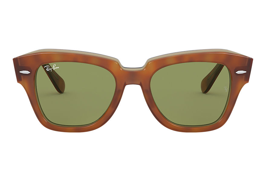 Ray-Ban  sunglasses RB2186 UNISEX 012 state street tortoise 8056597177634