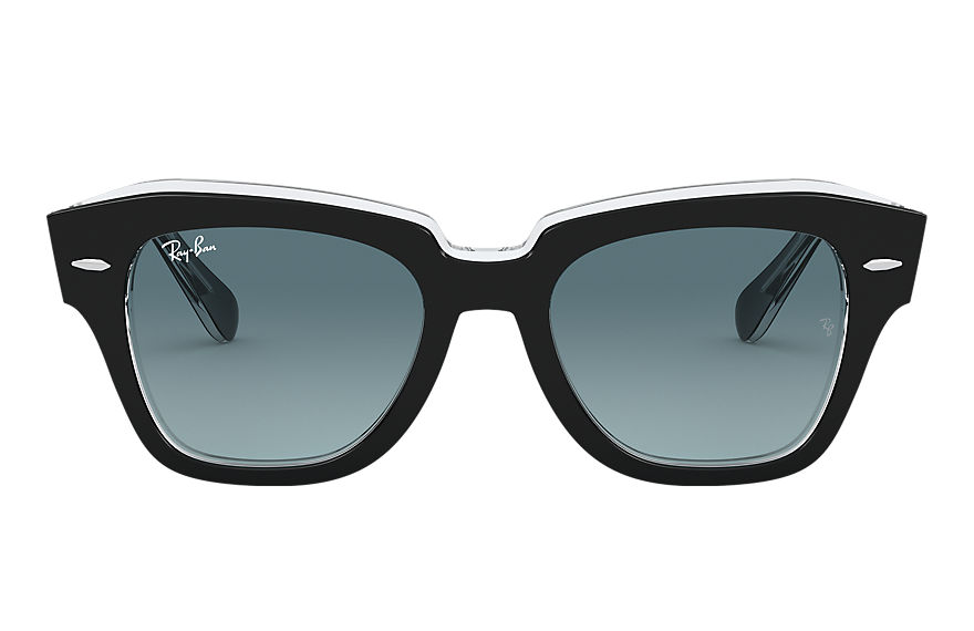 Ray-Ban  sunglasses RB2186 UNISEX 018 state street black 8056597177641