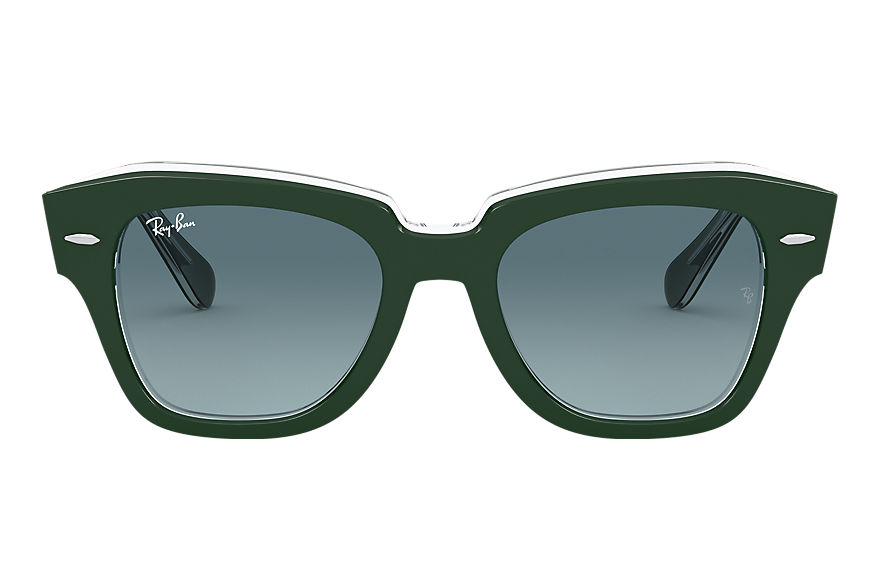 Ray-Ban  sunglasses RB2186 UNISEX 014 state street green 8056597177658