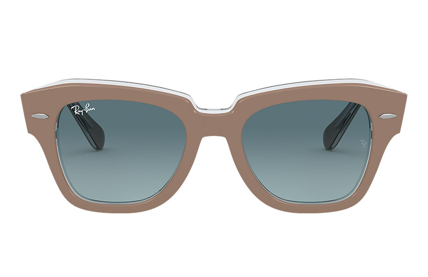 Ray-Ban  lunettes de soleil RB2186 UNISEX 016 state street beige 8056597177672