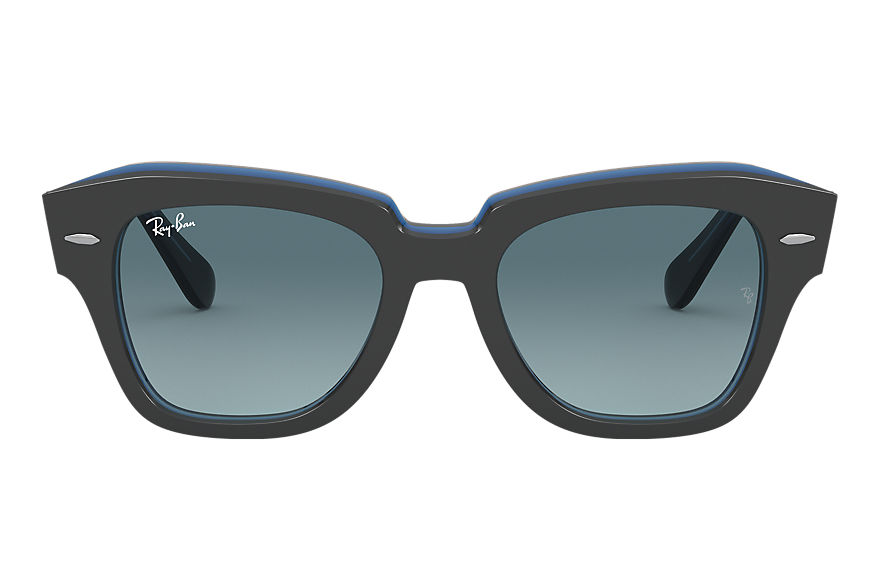 Ray-Ban  sunglasses RB2186 UNISEX 019 state street grey 8056597177689