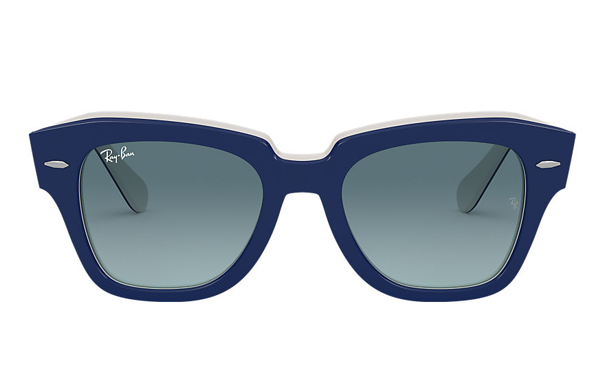 Ray-Ban  sunglasses RB2186 UNISEX 021 state street blue 8056597177696