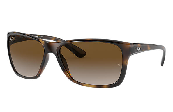 Ray-Ban Sunglasses RB4331 Tortoise with Brown Gradient lens