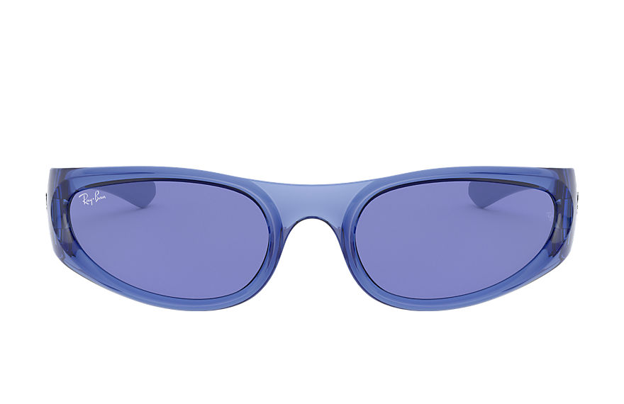 Ray-Ban  sunglasses RB4332 UNISEX 015 rb4332 transparent blue 8056597179072