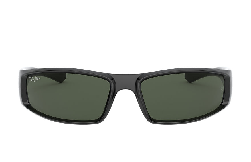 Ray-Ban Sunglasses RB4335 Black with Green Classic G-15 lens
