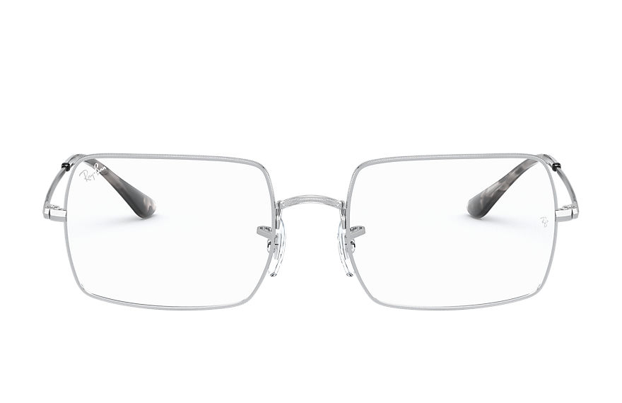 Ray-Ban  eyeglasses RX1969V UNISEX 007 rb1969v rectangle silver 8056597180160