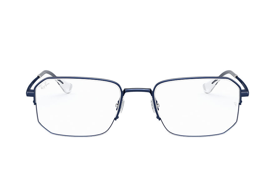 Ray-Ban  eyeglasses RX6449 UNISEX 009 rb6449 sand transparent blue 8056597183178