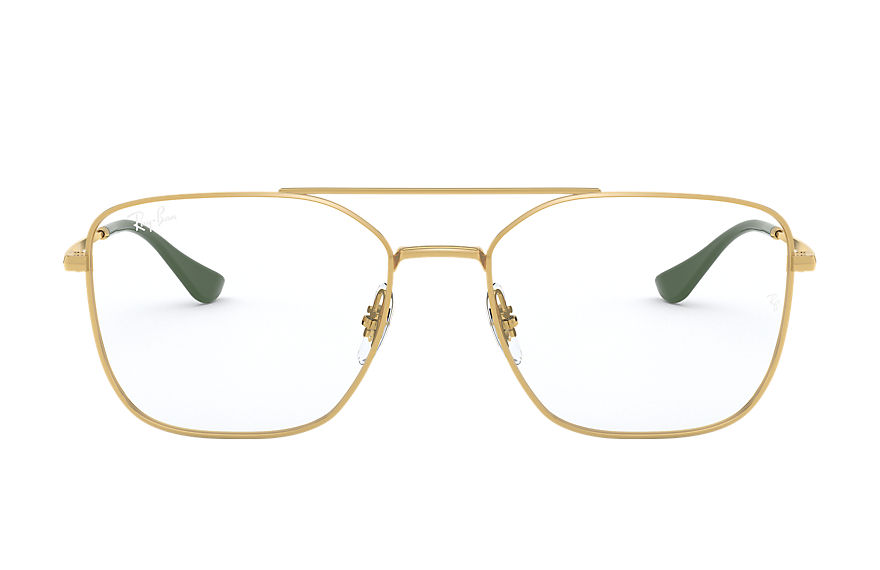 Ray-Ban  eyeglasses RX6450 UNISEX 008 rb6450 gold 8056597183314