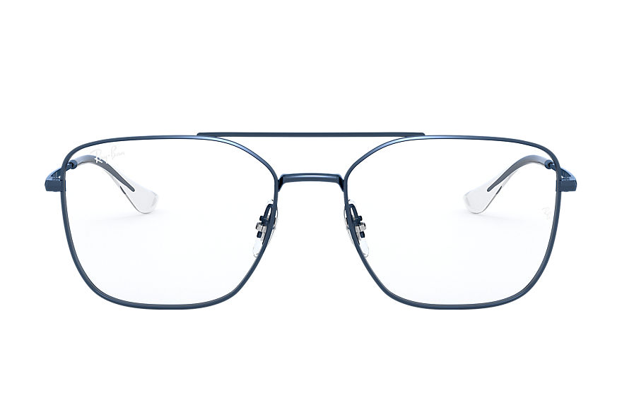 Ray-Ban  eyeglasses RX6450 UNISEX 010 rb6450 sand transparent blue 8056597183376