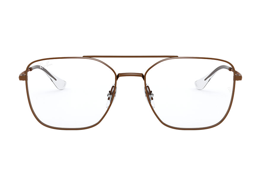 Ray-Ban  eyeglasses RX6450 UNISEX 007 rb6450 sand transparent brown 8056597183390