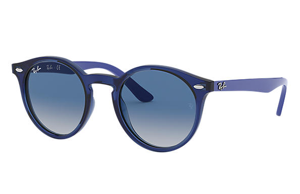 Ray-Ban 0RJ9064S-RJ9064S Transparent Blue; Blue SUN