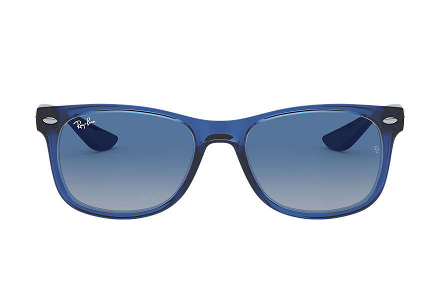 Ray-Ban  sunglasses RJ9052S CHILD 006 new wayfarer junior transparent blue 8056597186704
