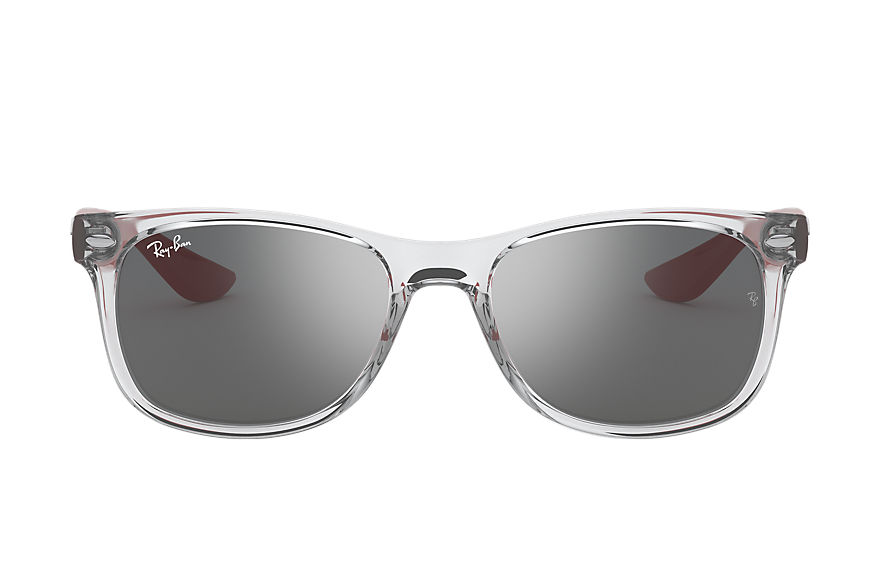 Ray-Ban  sunglasses RJ9052S CHILD 006 new wayfarer junior transparent grey 8056597186742