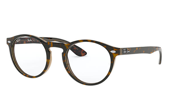 Ray-Ban 0RX5283-RB5283 Tortoise,Transparent Brown; Tortoise OPTICAL