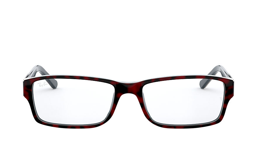 Ray-Ban  eyeglasses RX5169 UNISEX 005 rb5169 red havana 8056597188098