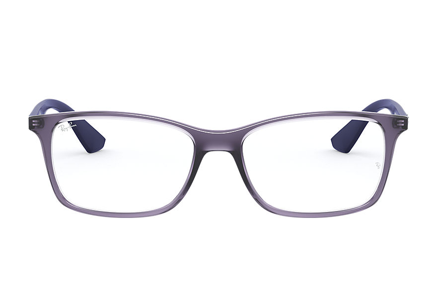 Ray-Ban  eyeglasses RX7047 UNISEX 001 rb7047 transparent violet 8056597188227