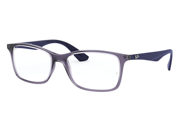 Ray-Ban 0RX7047-RB7047 Violett transparent,Violett; Blau OPTICAL