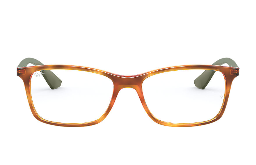 Ray-Ban  sehbrillen RX7047 UNISEX 002 rb7047 tortoise 8056597188234