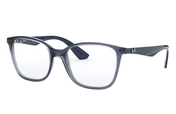 Ray-Ban Eyeglasses RB7066 Transparent Violet
