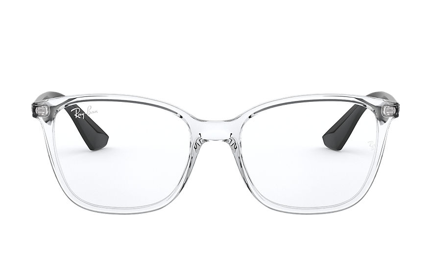 Ray-Ban  eyeglasses RX7066 UNISEX 007 rb7066 transparent 8056597188418
