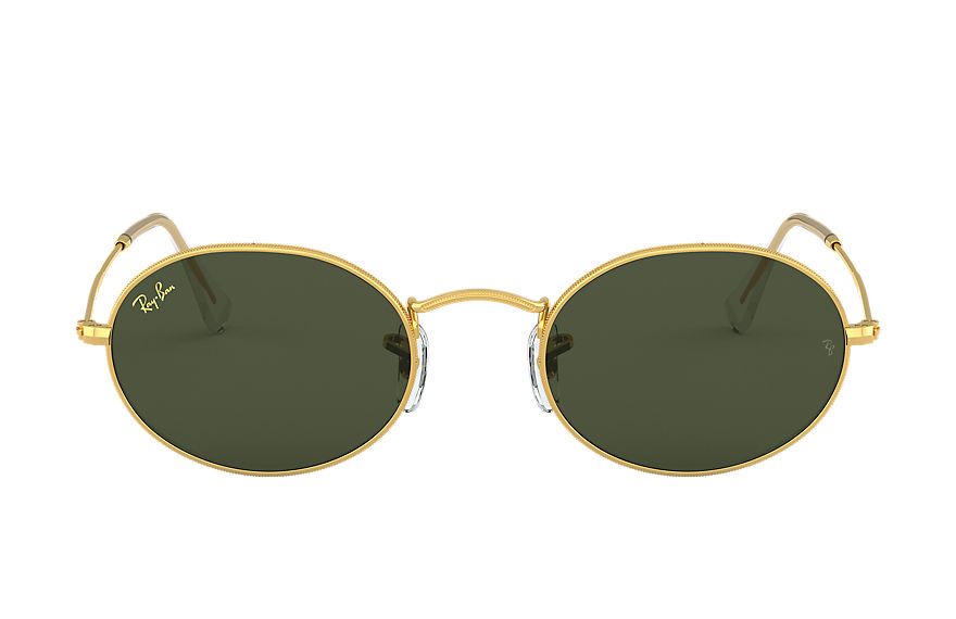 Ray-Ban  lunettes de soleil RB3547 UNISEX 001 oval legend gold or 8056597197397