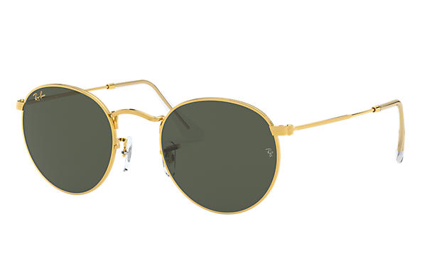 Ray-Ban 0RB3447-ROUND METAL LEGEND GOLD Gold SUN