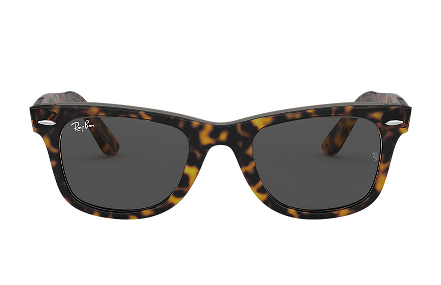 Ray-Ban Sunglasses ORIGINAL WAYFARER BICOLOR Tortoise with Dark Grey Classic lens