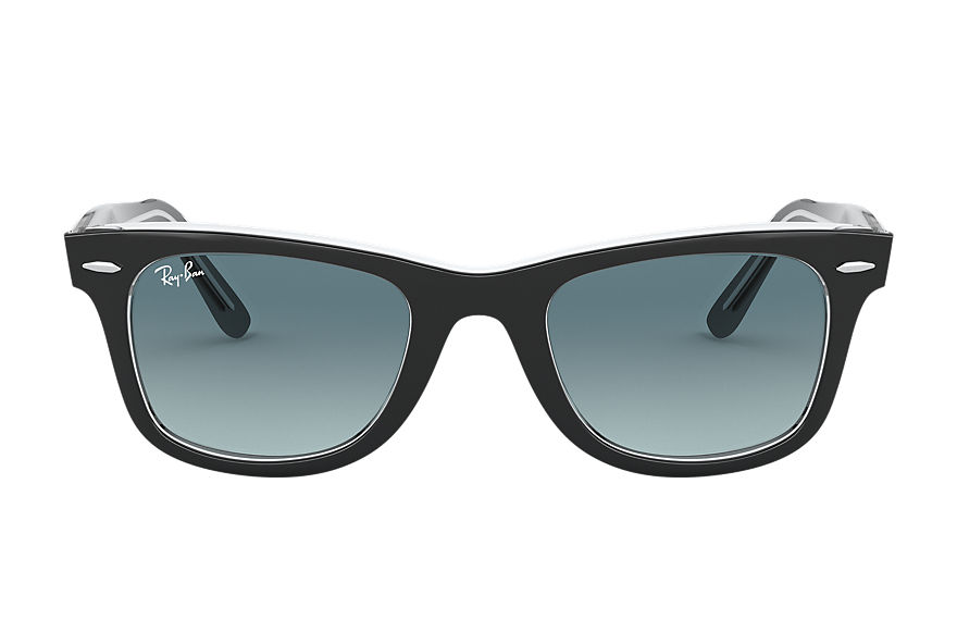Ray-Ban  sunglasses RB2140 UNISEX 007 original wayfarer bicolor black 8056597197755