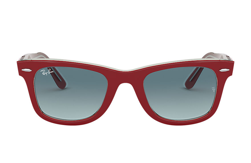 Ray-Ban  sunglasses RB2140 UNISEX 008 original wayfarer bicolor red 8056597197786
