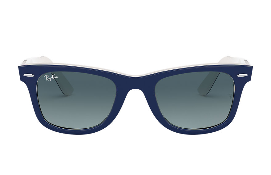 Ray-Ban  sunglasses RB2140 UNISEX 009 original wayfarer bicolor blue 8056597197816