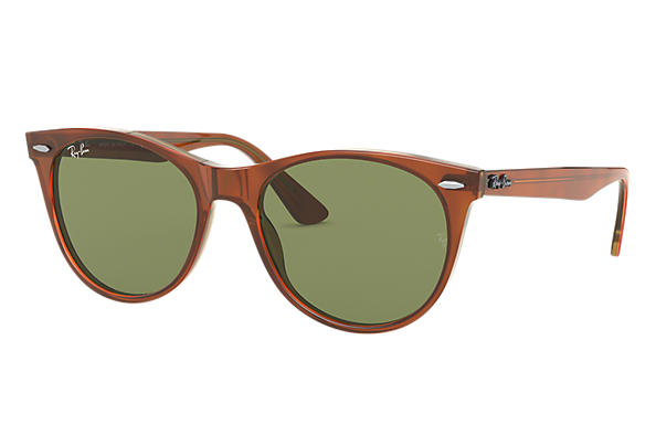 Ray-Ban 0RB2185-WAYFARER II CLASSIC Light Brown SUN