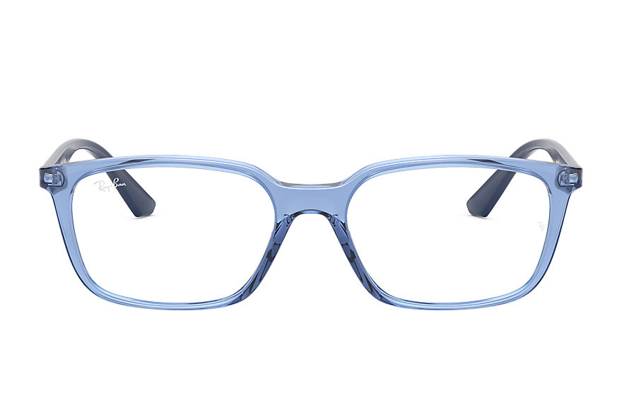 Ray-Ban  eyeglasses RX7176F UNISEX 007 rb7176 transparent blue 8056597199650