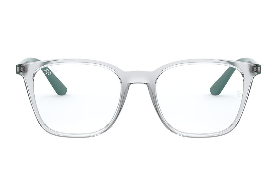 Ray-Ban  eyeglasses RX7177F UNISEX 009 rb7177 transparent 8056597199704