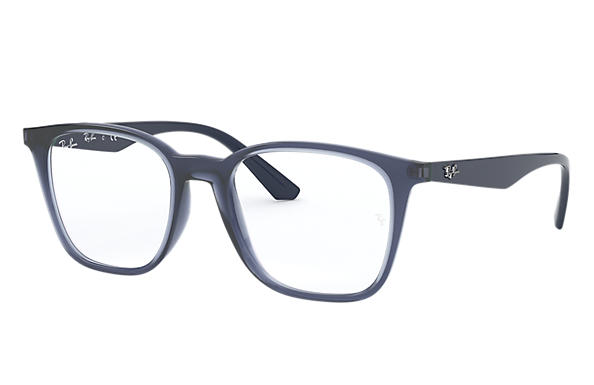 Ray-Ban Eyeglasses RB7177 Transparent Violet