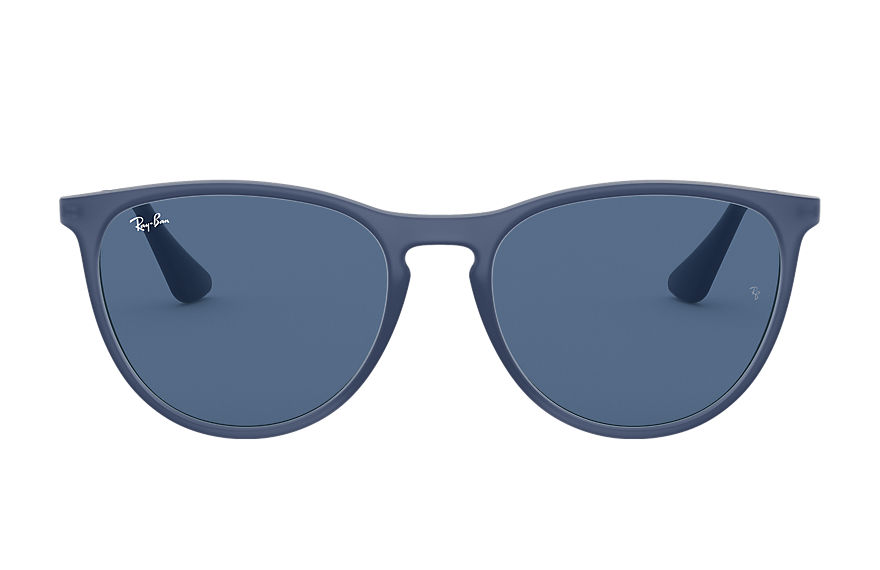 Ray-Ban Sunglasses IZZY Transparent Blue with Dark Blue Classic lens