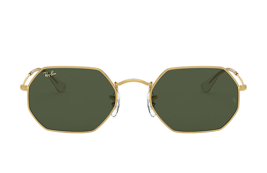 Ray-Ban  sunglasses RB3556 UNISEX 003 octagonal legend gold 金色 8056597209649