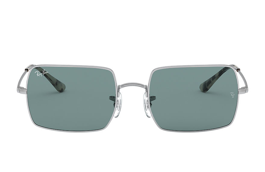 Ray-Ban  occhiali da sole RB1969 UNISEX 012 rectangle 1969 argento 8056597210263