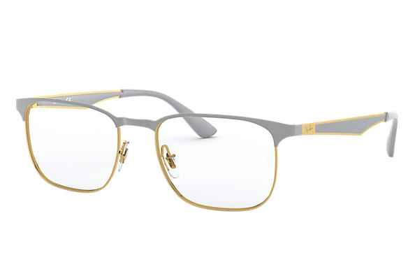 Ray-Ban 0RX6363-RB6363 Gold; Grey OPTICAL