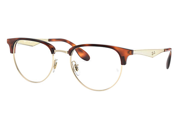 Ray-Ban 0RX6396-RB6396 White Gold; Brushed Gold,Gold OPTICAL