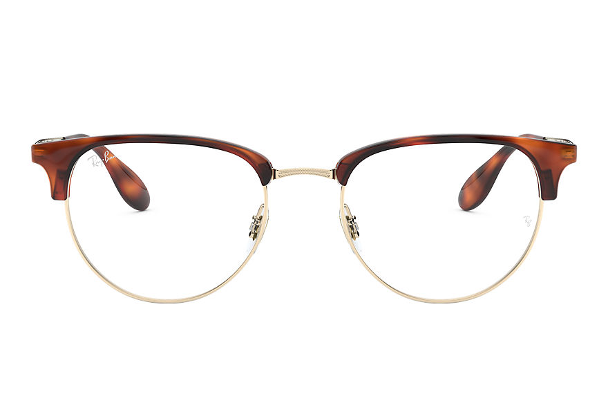 Ray-Ban Lunettes-de-vue RB6396 Titane Or Blanc