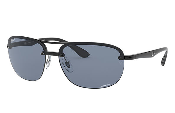 레이밴 Sunglasses RB4275 CHROMANCE 블랙 블루 Polarized 렌즈