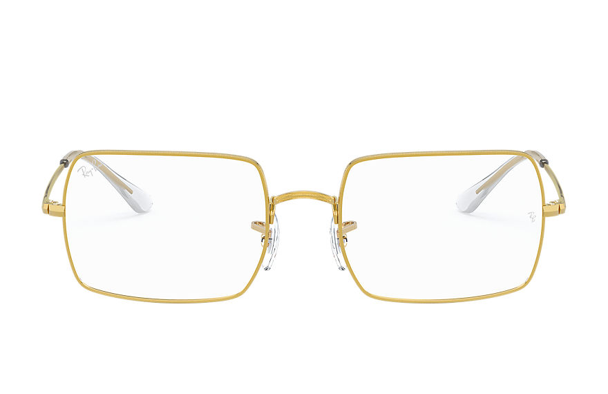 Ray-Ban  eyeglasses RX1969V UNISEX 006 rb1969v rectangle gold 8056597213059