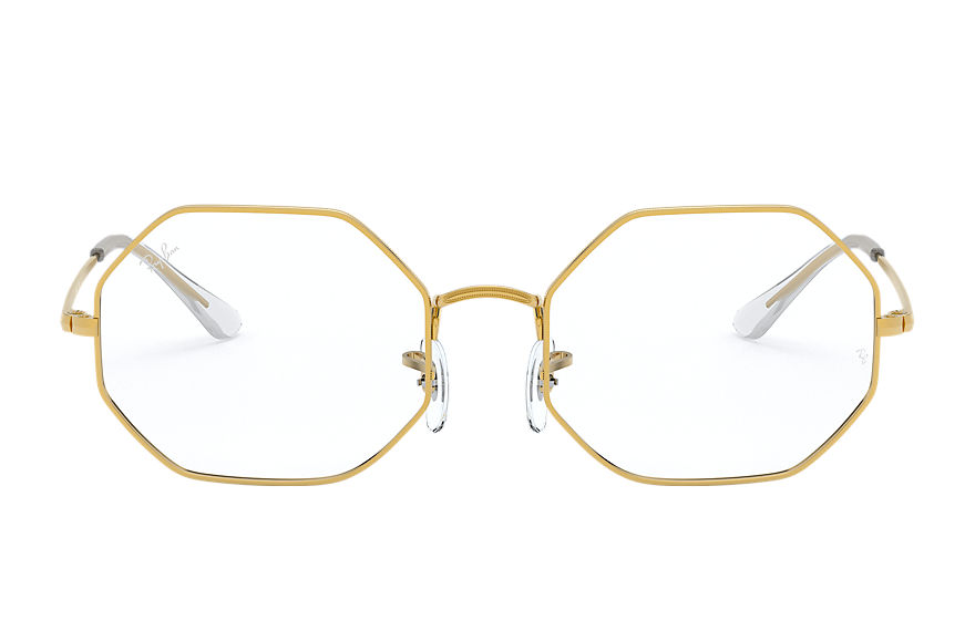 Ray-Ban  eyeglasses RX1972V UNISEX 008 rb1972v octagon gold 8056597213103