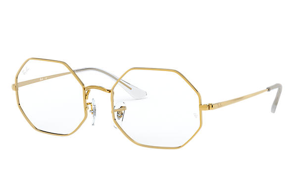 Ray-Ban Eyeglasses RB1972V OCTAGON Gold