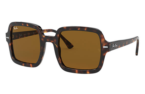 Ray-Ban Sunglasses RB2188 Tortoise with Brown Classic B-15 lens